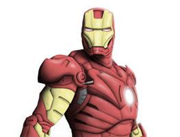 Iron Man by chris-illustrator