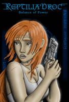Reptilia Poster - Kana v2 by chris-illustrator