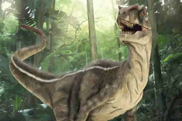 Velociraptor by chris-illustrator