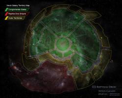 Galaxy Map by chris-illustrator