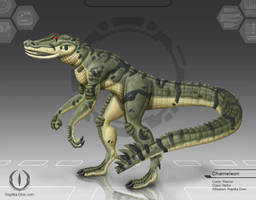 Chameleon - disamred by chris-illustrator
