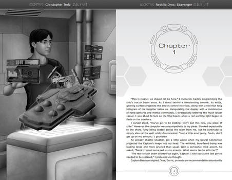 Chapter 1 - First Spread by chris-illustrator