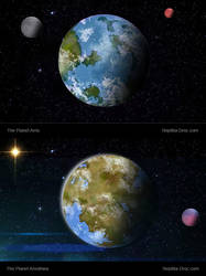 Planets 1 by chris-illustrator