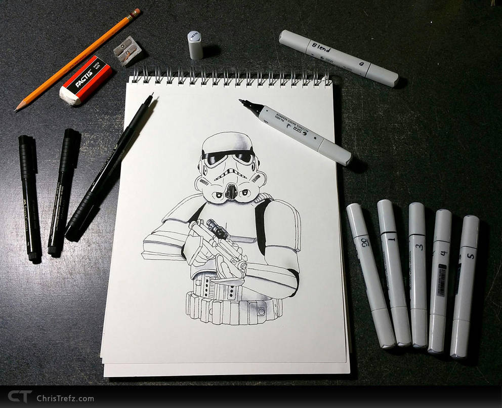 Work in Progress by chris-illustrator