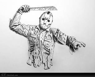 Jason Voorhees by chris-illustrator