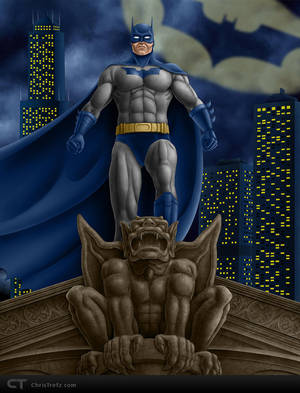 Dark Knight by chris-illustrator