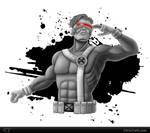 Cyclops Sketch by chris-illustrator