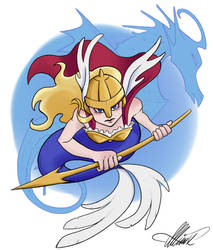 Valkyrie Mermaid by Allinox