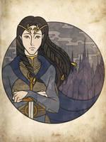 Fingon the Valiant by Ilweran