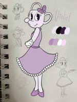 CH OC: Violet by Atsum3