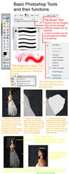 Basic Photoshop Tools Tutorial by Holly6669666
