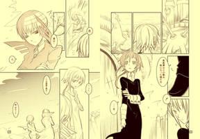 SE Doujinshi draft 009 by NosferatuTheNictuku