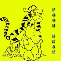 Pooh Bear Brushes by myszka011