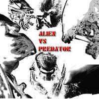 Alien vs Predator by myszka011