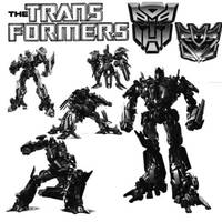 Transformers Brushes by myszka011