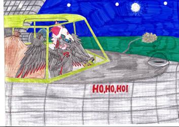 Thanta Claus (Rexbirb Christmas Event entry) by Blockio1999