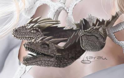 Dragon Necklace by mici-mimi