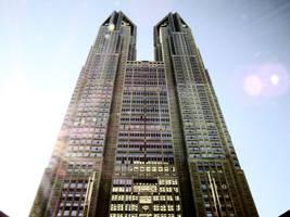 Tokyo Metropolitan Government Building by L-Spiro