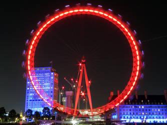 The London Eye by L-Spiro