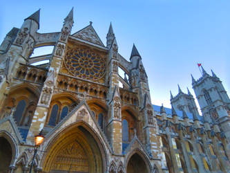 Westminster Abbey by L-Spiro