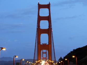Golden Gate Bridge 1 by L-Spiro