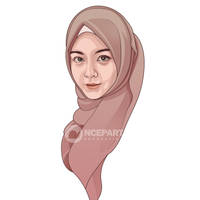Beauty Hijaber Vector 2 by Ncepart28