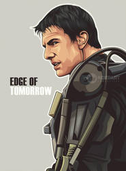 Edge of tomorrow on vector by ncepart by Ncepart28