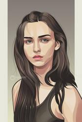 beauty vector art by Ncepart28