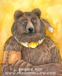 Bear Portrait by merwing