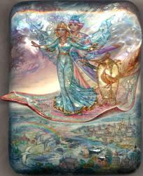 The Flying Carpet by KnyazevSergey
