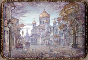 The Temple of Christ the Savior by KnyazevSergey