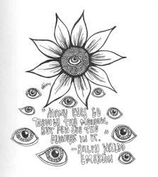 Eyes and meadows by bevwearsprada