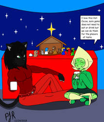 Blade and Peridot: Chrismas Time by TeamAvalancheMember2