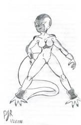 Flama Sketch by TeamAvalancheMember2