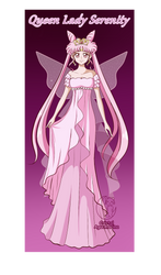 Queen Lady Serenity by cristalaguamarina