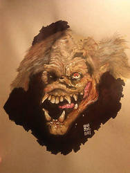 Sewer Monster - Big Trouble in Little China by johndonaldcarlucci