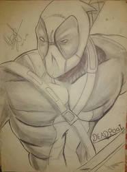 Deadpool - Draw by nikocopado
