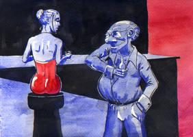 Sex Machine Goes Clubbin' by charlando
