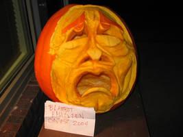 Tragedy pumpkin, unlit by charlando