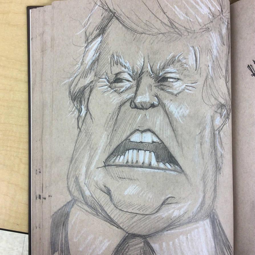 Donald J Trump by charlando