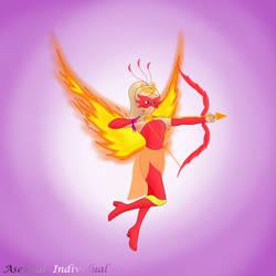 Miraculous Champions: Royal Phoenix by DreamVixen2511