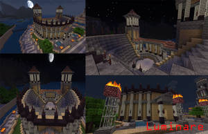 Minecraft- Classical Style Theater by X-Luminare-X
