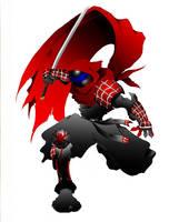 Ninja Spider by SilentSpiderz