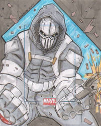 Marvel Universe AP Taskmaster by eugenecommodore