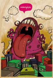 monster destroyer by momogoyo