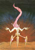 Nyarlathotep - The Bloody Tongue by Stellabluegirl