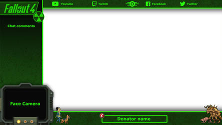 Fallout 4 - Overlay Stream by Stellabluegirl