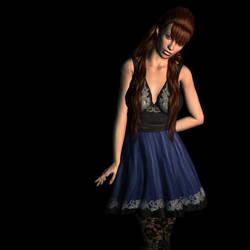 Rochelle, simple lighting by LadyRavenlocke