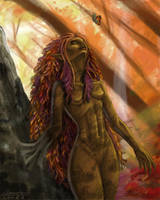 Dryad: Autumn by Liamythesh