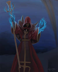D'Sparil, the Serpent Rider by Liamythesh